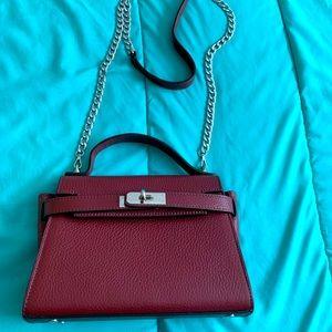 Kelly style mini shoulder/crossbody bag